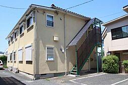東京都世田谷区上野毛4丁目の賃貸アパートの外観