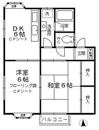 グランドメゾン 2号館[2階]の間取り