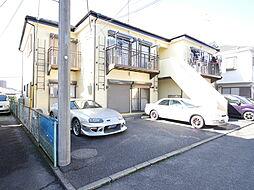 神奈川県海老名市国分北2丁目の賃貸アパートの外観