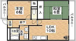 セゾン弐番館[203号室]の外観