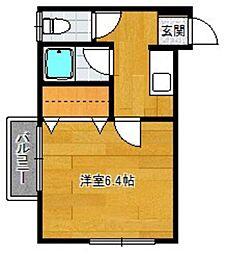 ピッコロハウス[203号室]の間取り