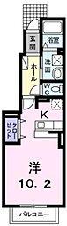 ピクシー[1階]の間取り
