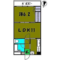 モルペウス横浜[3階]の間取り