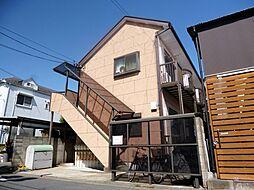 東京都江戸川区西小岩3の賃貸アパートの外観