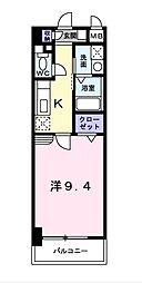 ハッピー・デン[3階]の間取り
