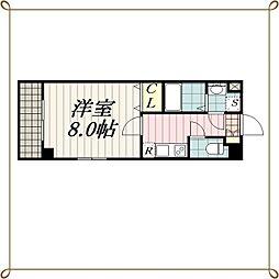 セゾン・ドゥ・ブランシェ千葉中央[3階]の間取り