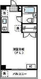 東京都世田谷区玉川2丁目の賃貸マンションの間取り