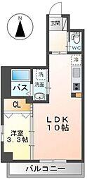 Grandeur Hakata~グランドゥールハカタ~ 3階1LDKの間取り