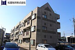 愛知県豊橋市つつじが丘1丁目の賃貸アパートの外観