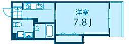 神奈川県横浜市港北区綱島上町の賃貸アパートの間取り