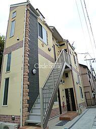 ユナイト安善パラティーノの杜[1階]の外観