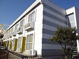 愛知県豊川市山道町1丁目の賃貸アパートの外観