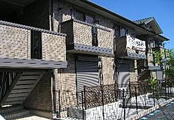 埼玉県入間郡越生町大字上野の賃貸アパートの外観