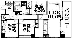 ライラ大和田[2階]の間取り