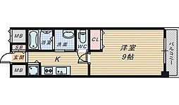 住吉橋TKハイツ[2階]の間取り