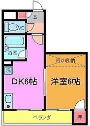 K−FLAT[1階]の間取り