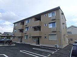 栃木県宇都宮市鶴田1丁目の賃貸アパートの外観