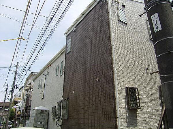 神奈川県横浜市保土ケ谷区岩間町1丁目の賃貸アパートの外観