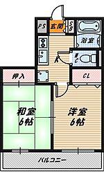 エクセレント関目II山崎マンション[2階]の間取り