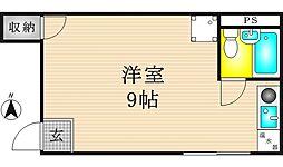 ソレイユ鶴見橋[2階]の間取り