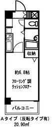 ドミール京橋[10階]の間取り
