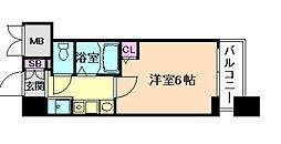 エステムコート梅田・リトリーヴ[9階]の間取り