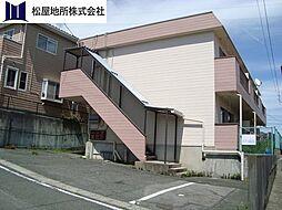 愛知県田原市吉胡町木綿台の賃貸アパートの外観