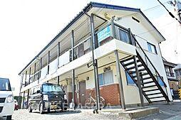 大阪府箕面市桜2丁目の賃貸アパートの外観