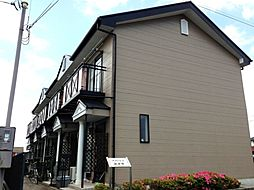 岐阜県羽島市小熊町内粟野2丁目の賃貸アパートの外観
