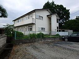 栃木県宇都宮市西一の沢町の賃貸アパートの外観