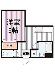 コアメゾン川崎[10階]の間取り