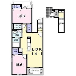セレーノIII[2階]の間取り