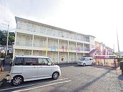 東京都日野市三沢3の賃貸アパートの外観