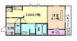 東桜館[3階]の間取り