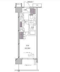 A-standard(エースタンダード) 芝浦[11階]の間取り