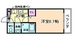 ドリームプラザ福島[5階]の間取り