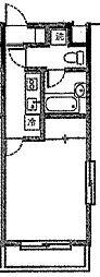 クレイドル溝の口[2階]の間取り