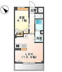 KMG[2階]の間取り
