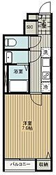 東久留米市南沢5丁目新築PJ 1階1Kの間取り