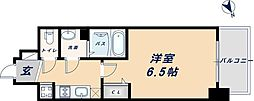 阪神なんば線 九条駅 徒歩6分の賃貸アパート 3階1Kの間取り