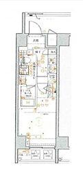 京急本線 戸部駅 徒歩3分の賃貸マンション 7階1Kの間取り