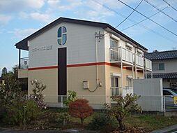 岐阜県関市戸田の賃貸アパートの外観