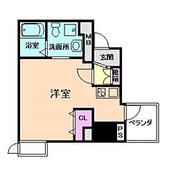 セレニテ梅田EST[1階]の間取り