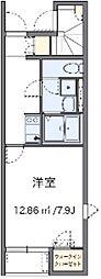 レオネクスト和田[1階]の間取り
