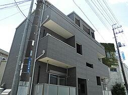 千葉県柏市あけぼの2丁目の賃貸アパートの外観