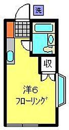 ソーシィー和泉[1階]の間取り