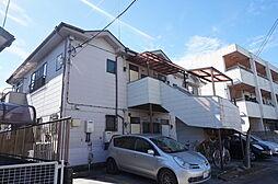栃木県小山市城東3丁目の賃貸アパートの外観