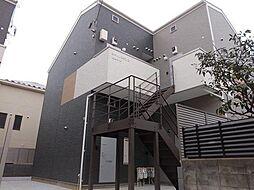 神奈川県川崎市中原区宮内3丁目の賃貸アパートの外観