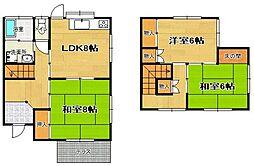 [テラスハウス] 福岡県福岡市東区唐原4丁目 の賃貸【/】の間取り