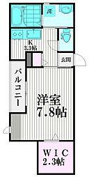 東京都品川区上大崎3丁目の賃貸マンションの間取り